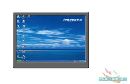 Photoshop鼠绘笔记本电脑_亿码酷站___亿码酷站平面设计教程插图4