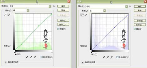 PS巧用曲线快速修复暗色调照片_亿码酷站___亿码酷站平面设计教程插图7