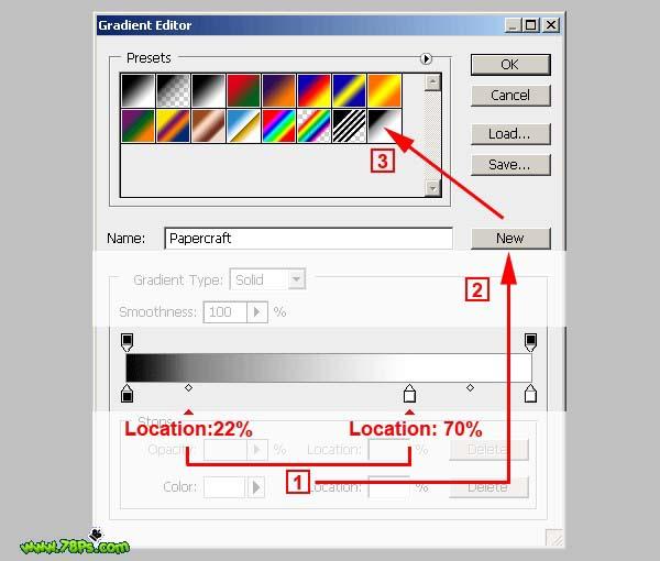 Photoshop制作剪纸字效果_亿码酷站___亿码酷站平面设计教程插图3