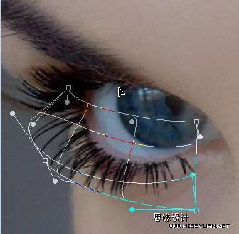 Photoshop打造一双完美的眼睛_亿码酷站___亿码酷站平面设计教程插图5
