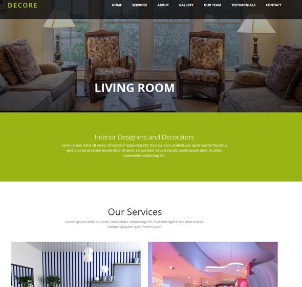 草绿色内部设计网站模板_亿码酷站网站源码下载
