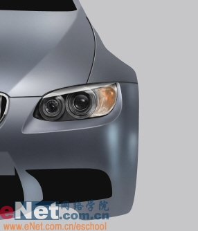 Photoshop鼠绘实例:宝马BMWM3_亿码酷站___亿码酷站平面设计教程插图18