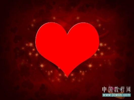 Photoshop制作漂亮爱心情人节贺卡_亿码酷站___亿码酷站平面设计教程插图20