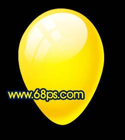 Photoshop制作漂亮的彩色气球_亿码酷站___亿码酷站平面设计教程插图16