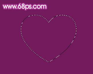 Photoshop制作漂亮的心形泡泡_亿码酷站___亿码酷站平面设计教程插图1