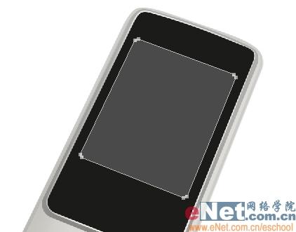 Photoshop鼠绘诺基亚手机_亿码酷站___亿码酷站平面设计教程插图5