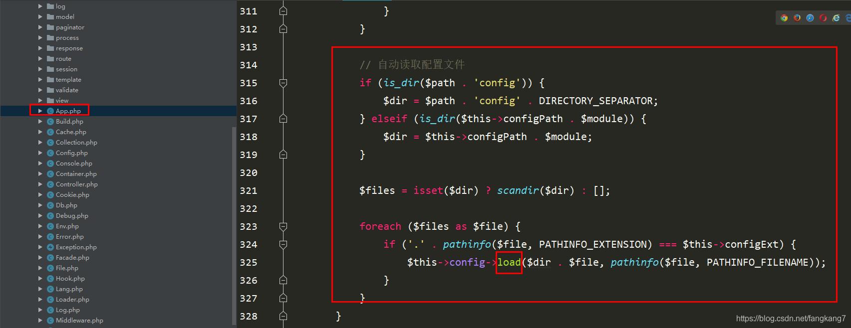 ThinkPHP之配置源码执行流程_亿码酷站_编程开发技术教程插图4
