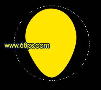 Photoshop制作漂亮的彩色气球_亿码酷站___亿码酷站平面设计教程插图2