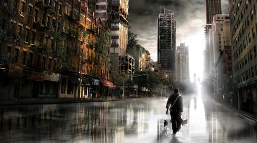用Photoshop打造一座灾难城市_亿码酷站___亿码酷站平面设计教程插图10