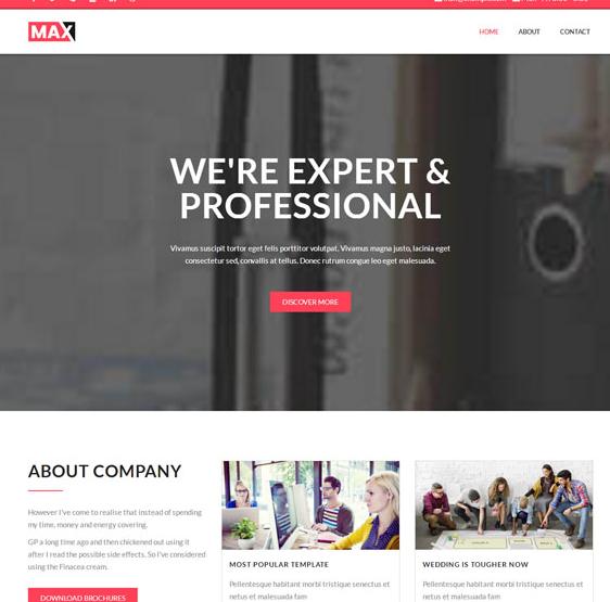 产品UI设计创意网站模板_wordpress主题