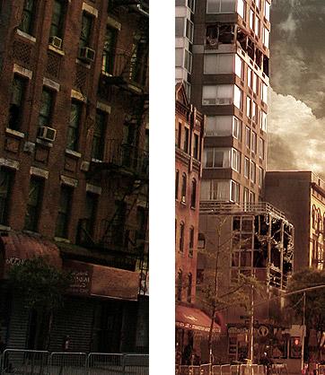 用Photoshop打造一座灾难城市_亿码酷站___亿码酷站平面设计教程插图4