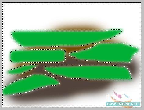 PS鼠绘水彩画效果教程_亿码酷站___亿码酷站平面设计教程插图4