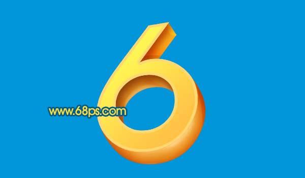 Photoshop打造黄金3D特效字_亿码酷站___亿码酷站平面设计教程插图11