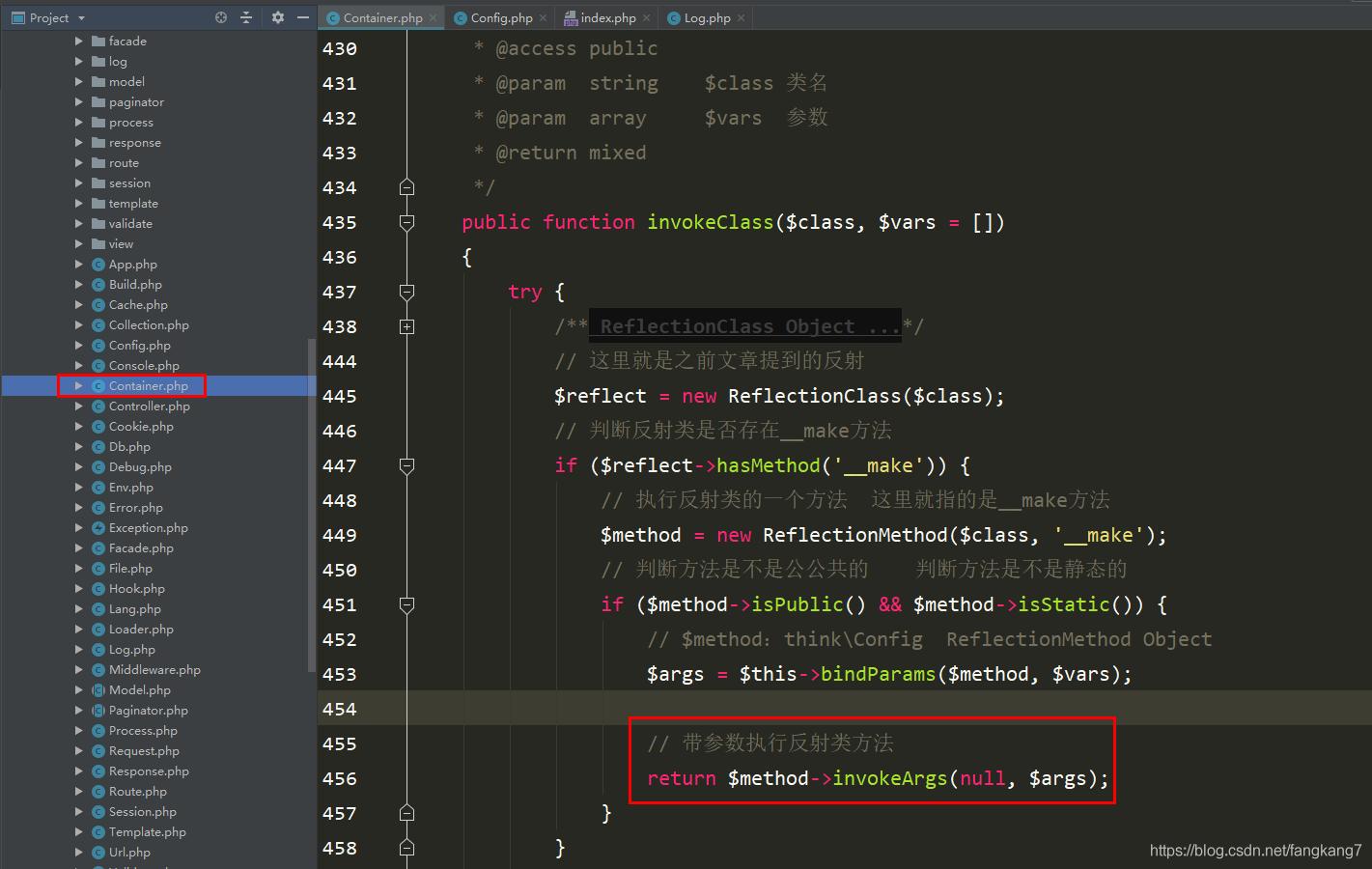 ThinkPHP容器之绑定参数_亿码酷站_编程开发技术教程插图9