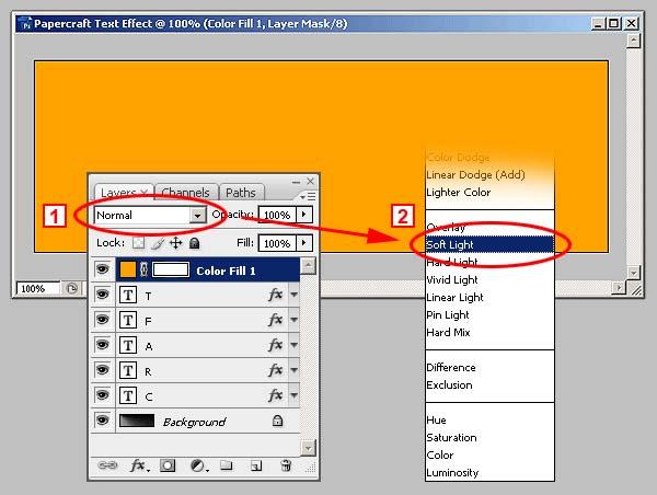 Photoshop制作剪纸字效果_亿码酷站___亿码酷站平面设计教程插图23