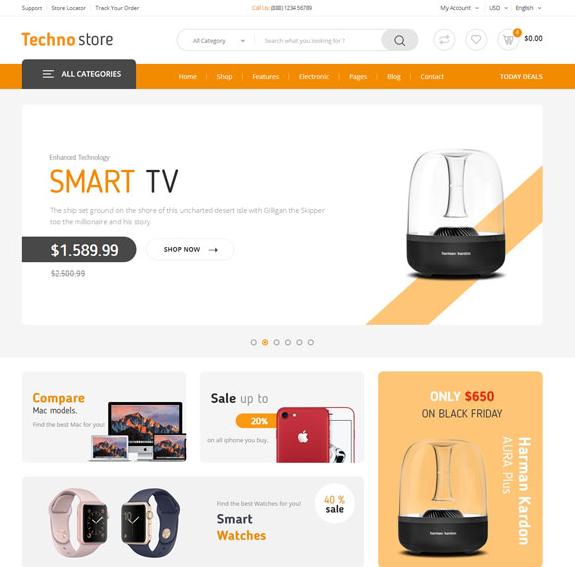 网上商城电子商务网站模板_企业官网模板