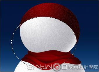 PHOTOSHOP鼠绘漂亮的圣诞雪人_亿码酷站___亿码酷站平面设计教程插图9