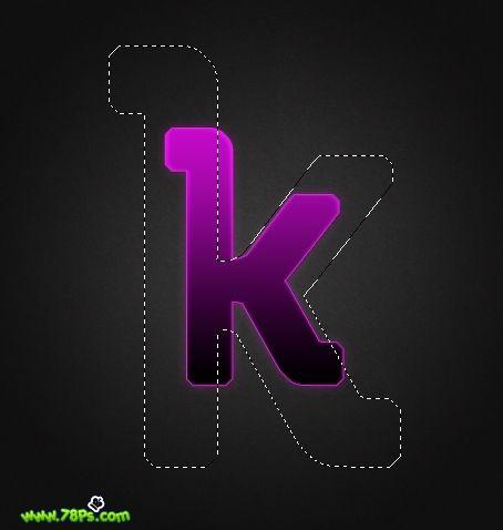 Photoshop制作紫色发光字效果_亿码酷站___亿码酷站平面设计教程插图15