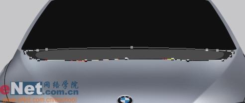 Photoshop鼠绘实例:宝马BMWM3_亿码酷站___亿码酷站平面设计教程插图24