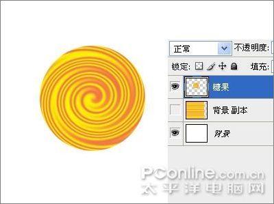 Photoshop滤镜制作彩色棒棒糖_亿码酷站___亿码酷站平面设计教程插图6