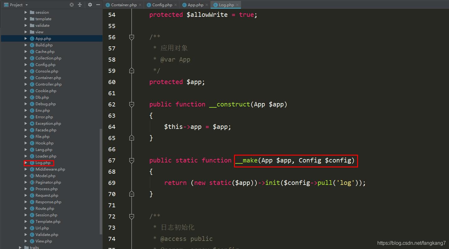 ThinkPHP容器之绑定参数_亿码酷站_编程开发技术教程插图4