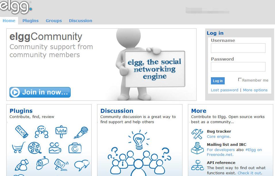 Elgg开源社交网络引擎_亿码酷站