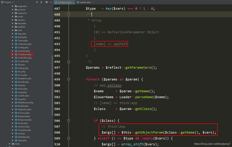 ThinkPHP容器之绑定参数_亿码酷站_编程开发技术教程插图6
