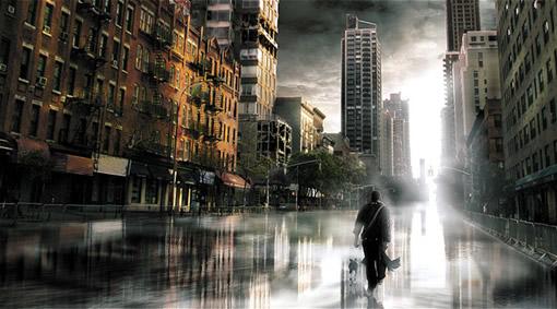 用Photoshop打造一座灾难城市_亿码酷站___亿码酷站平面设计教程插图8
