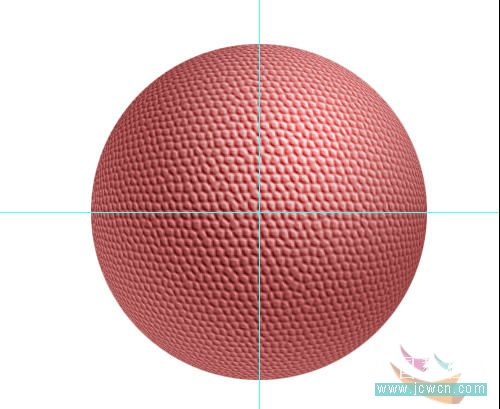 Photoshop滤镜制作逼真的篮球_亿码酷站___亿码酷站平面设计教程插图11