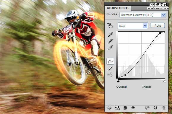 Photoshop打造火速行驶的自行车_亿码酷站___亿码酷站平面设计教程插图9