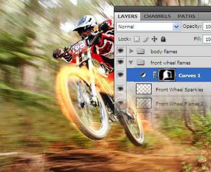 Photoshop打造火速行驶的自行车_亿码酷站___亿码酷站平面设计教程插图10