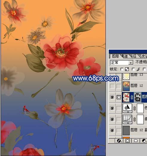 Photoshop为古装人物照片综合美化_亿码酷站___亿码酷站平面设计教程插图7