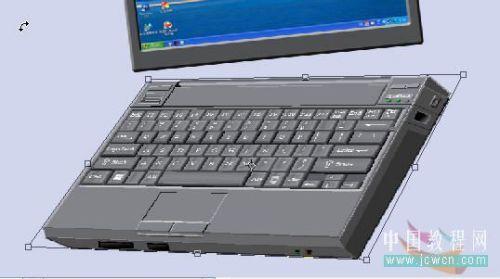 Photoshop鼠绘笔记本电脑_亿码酷站___亿码酷站平面设计教程插图32
