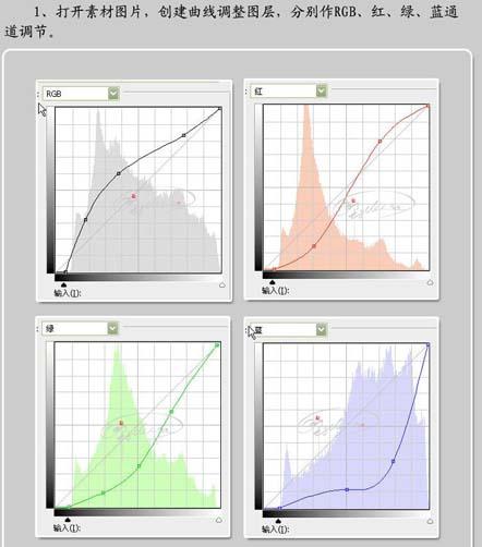 Ps修复严重偏蓝的照片_亿码酷站___亿码酷站平面设计教程插图2