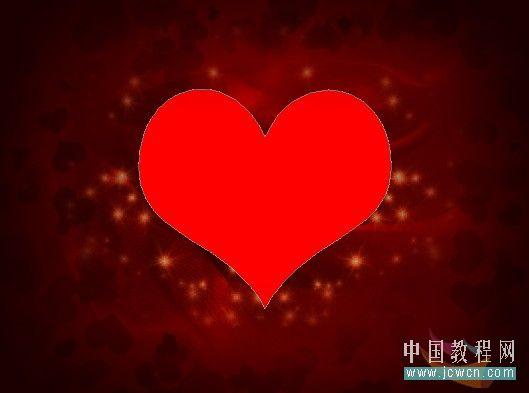 Photoshop制作漂亮爱心情人节贺卡_亿码酷站___亿码酷站平面设计教程插图18