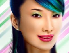Photoshop调出照片梦幻般的暗紫色调_亿码酷站___亿码酷站平面设计教程插图8