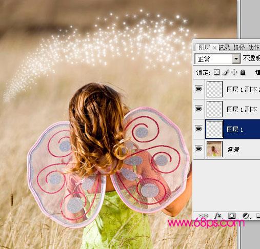 Photoshop画笔为照片添加魔法星星效果_亿码酷站___亿码酷站平面设计教程插图12