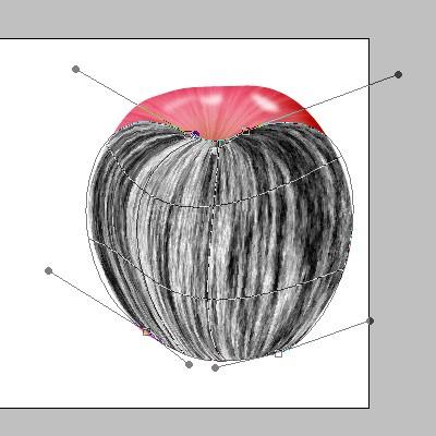PhotoShop绘制逼真的苹果_亿码酷站___亿码酷站平面设计教程插图22