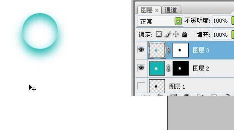 Photoshop制作可爱的彩色透明水泡_亿码酷站___亿码酷站平面设计教程插图6