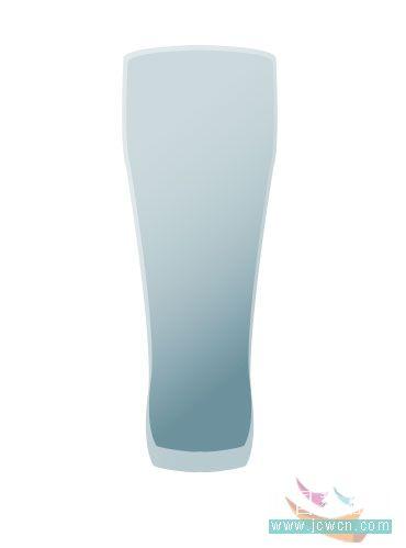 PS绘制橙汁玻璃杯_亿码酷站___亿码酷站平面设计教程插图7