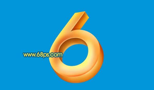 Photoshop打造黄金3D特效字_亿码酷站___亿码酷站平面设计教程插图12