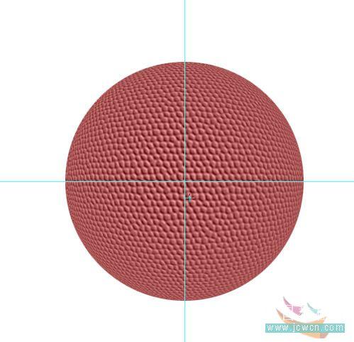 Photoshop滤镜制作逼真的篮球_亿码酷站___亿码酷站平面设计教程插图9