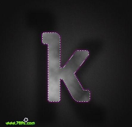 Photoshop制作紫色发光字效果_亿码酷站___亿码酷站平面设计教程插图18
