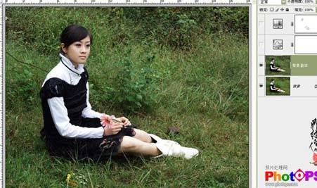 Photoshop快速调出照片的灰度回忆色_亿码酷站___亿码酷站平面设计教程插图3