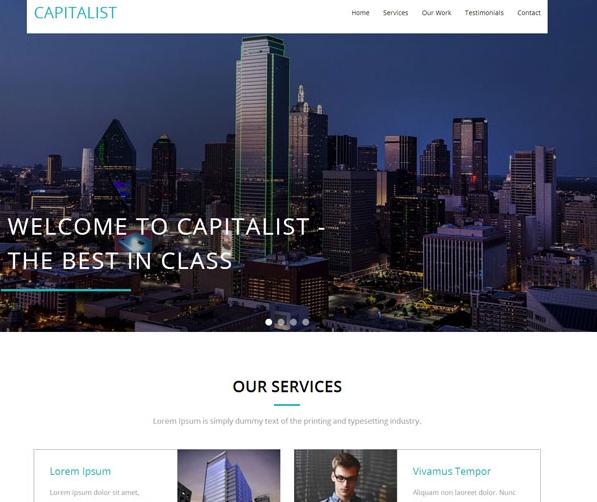 高楼城市建设企业模板下载_企业官网模板
