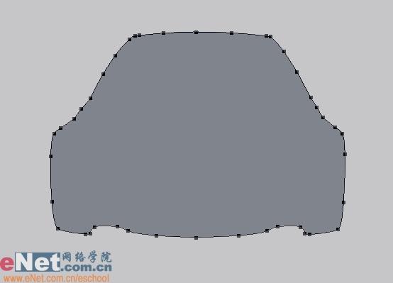 Photoshop鼠绘实例:宝马BMWM3_亿码酷站___亿码酷站平面设计教程插图1