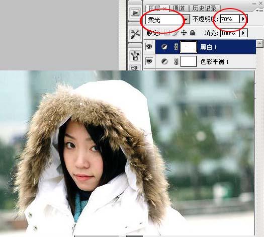 Photoshop给偏暗的人物照片润色_亿码酷站___亿码酷站平面设计教程插图5