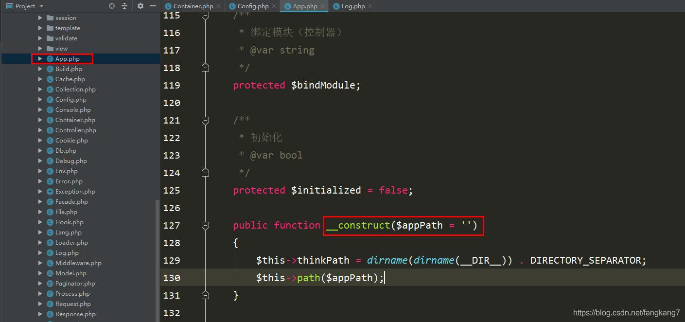 ThinkPHP容器之绑定参数_亿码酷站_编程开发技术教程插图3