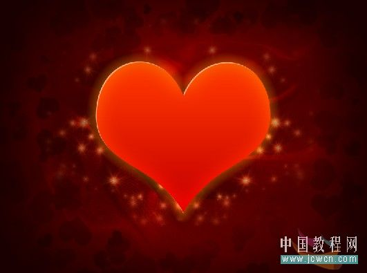 Photoshop制作漂亮爱心情人节贺卡_亿码酷站___亿码酷站平面设计教程插图24