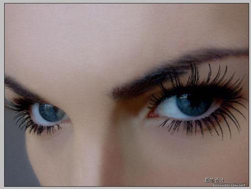 Photoshop打造一双完美的眼睛_亿码酷站___亿码酷站平面设计教程插图6